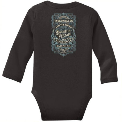 Feast Of Tabernacles Rock Valley Christian Long Sleeve Baby Bodysuit Designed By Kakashop