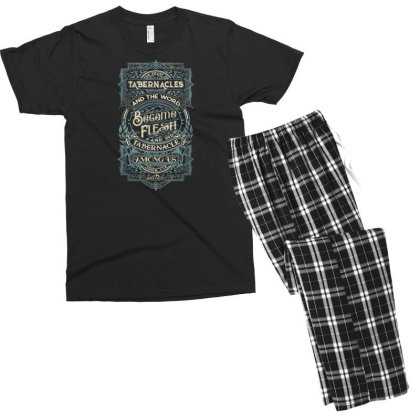 Feast Of Tabernacles Rock Valley Christian Men's T-shirt Pajama Set Designed By Kakashop