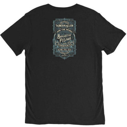 Feast Of Tabernacles Rock Valley Christian V-neck Tee Designed By Kakashop