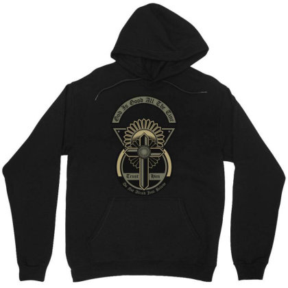God Is Good All The Time Unisex Hoodie Designed By Chiks