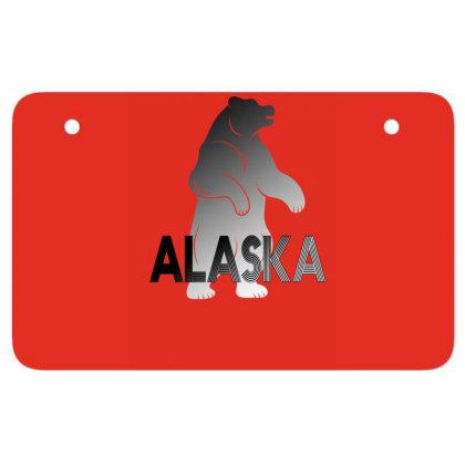 Alaska Bear Atv License Plate Designed By Bettercallsaul