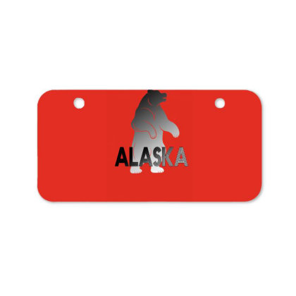 Alaska Bear Bicycle License Plate Designed By Bettercallsaul