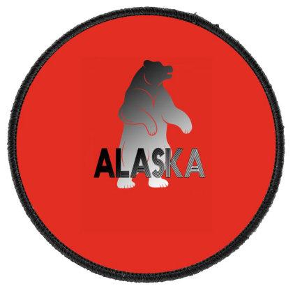 Alaska Bear Round Patch Designed By Bettercallsaul