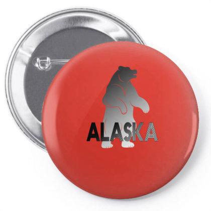 Alaska Bear Pin-back Button Designed By Bettercallsaul