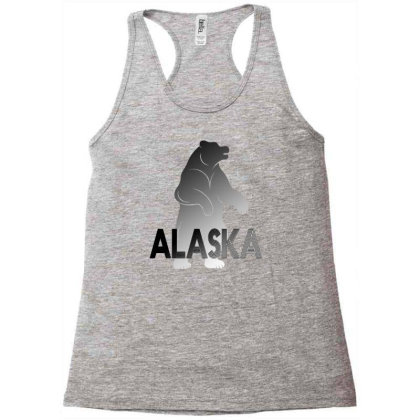 Alaska Bear Racerback Tank Designed By Bettercallsaul