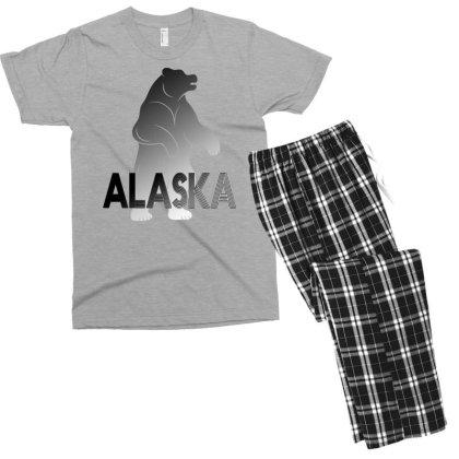Alaska Bear Men's T-shirt Pajama Set Designed By Bettercallsaul