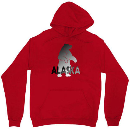 Alaska Bear Unisex Hoodie Designed By Bettercallsaul