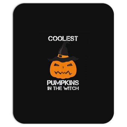 Coolest Pumpkin In The Witch Halloween Mousepad Designed By Amber Petty