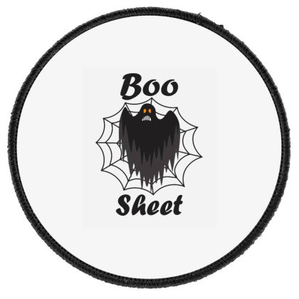 Boo Sheet Round Patch Designed By Amber Petty