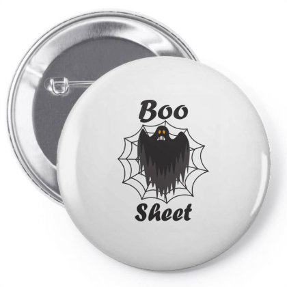 Boo Sheet Pin-back Button Designed By Amber Petty