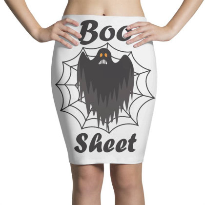 Boo Sheet Pencil Skirts Designed By Amber Petty