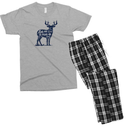 Done In Love Men's T-shirt Pajama Set Designed By Chiks