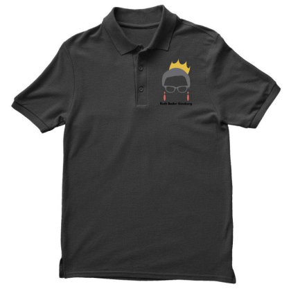 Ruth Bader Ginsburg Men's Polo Shirt Designed By Fahmifutri