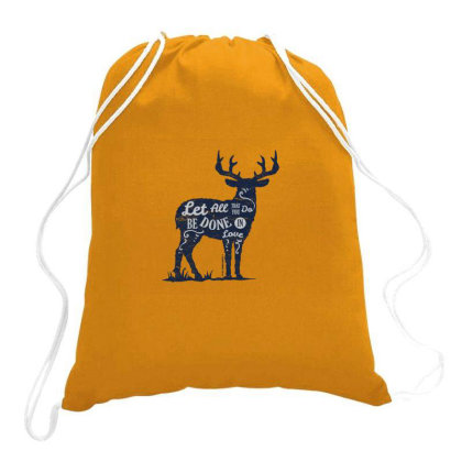 Done In Love Drawstring Bags Designed By Chiks