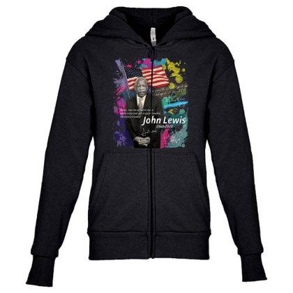 John Lewis Black Youth Zipper Hoodie Designed By Kakashop