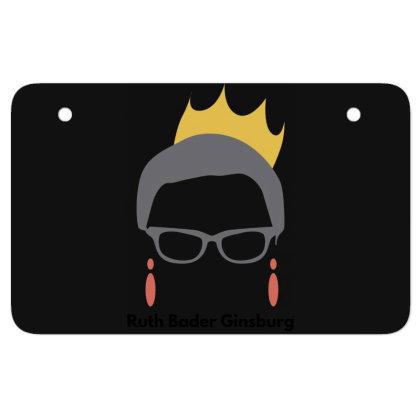 Ruth Bader Ginsburg Atv License Plate Designed By Fahmifutri
