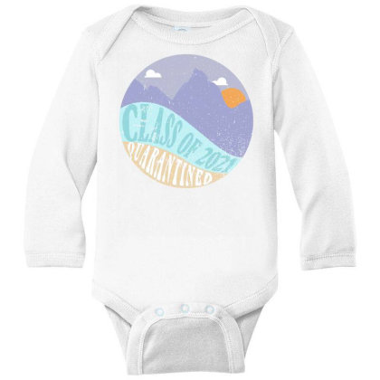 Class Of 2021 Quarantined Long Sleeve Baby Bodysuit Designed By Akin