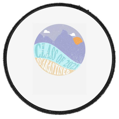 Class Of 2021 Quarantined Round Patch Designed By Akin