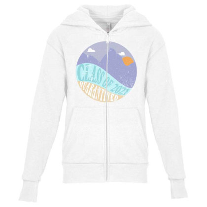 Class Of 2021 Quarantined Youth Zipper Hoodie Designed By Akin