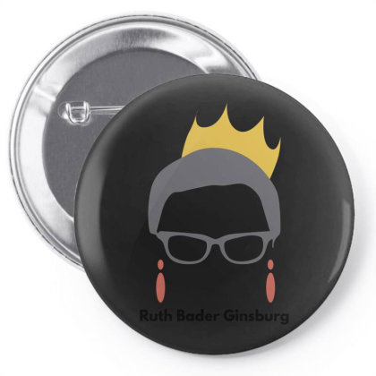 Ruth Bader Ginsburg Pin-back Button Designed By Fahmifutri