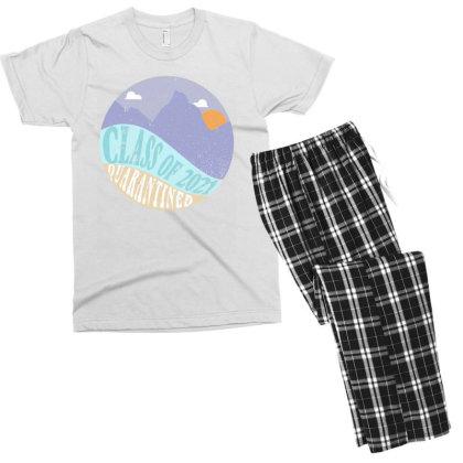 Class Of 2021 Quarantined Men's T-shirt Pajama Set Designed By Akin