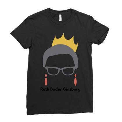 Ruth Bader Ginsburg Ladies Fitted T-shirt Designed By Fahmifutri