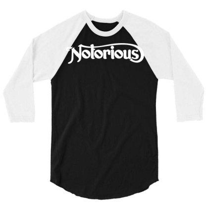 Notorious 3/4 Sleeve Shirt Designed By Fahmifutri