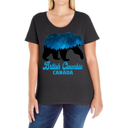 British Cloumbia Canada Ladies Curvy T-shirt Designed By Bettercallsaul