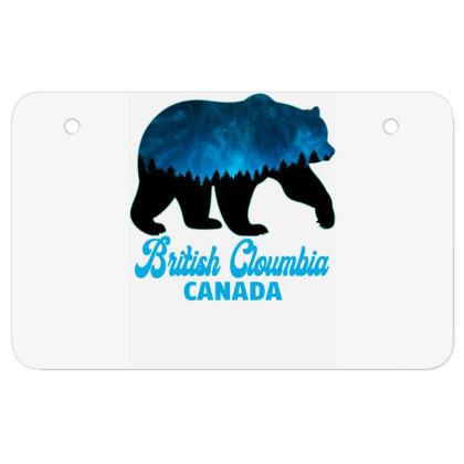 British Cloumbia Canada Atv License Plate Designed By Bettercallsaul