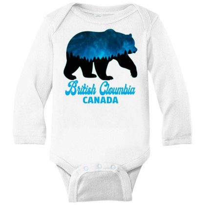 British Cloumbia Canada Long Sleeve Baby Bodysuit Designed By Bettercallsaul