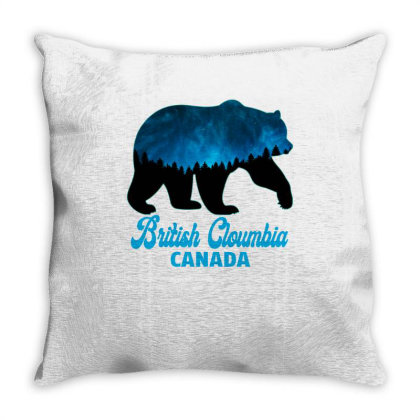British Cloumbia Canada Throw Pillow Designed By Bettercallsaul