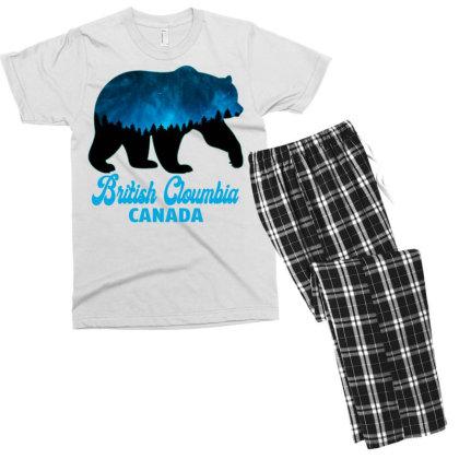 British Cloumbia Canada Men's T-shirt Pajama Set Designed By Bettercallsaul