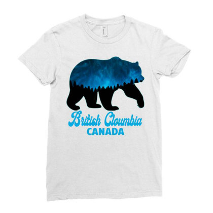 British Cloumbia Canada Ladies Fitted T-shirt Designed By Bettercallsaul