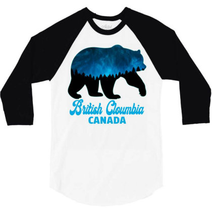 British Cloumbia Canada 3/4 Sleeve Shirt Designed By Bettercallsaul