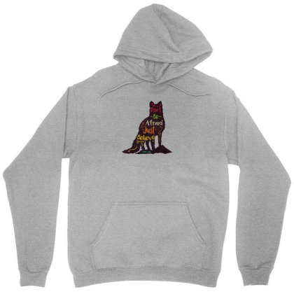 Don't Be Afraid Just Believe Unisex Hoodie Designed By Chiks