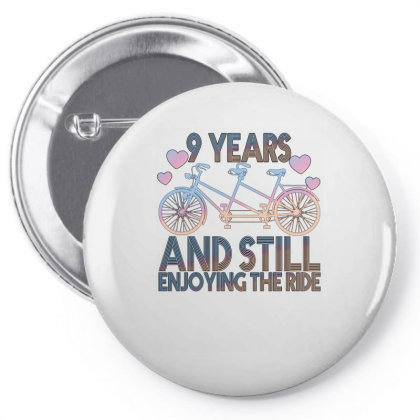9 Years And Still Enjoying The Ride Pin-back Button Designed By Bettercallsaul