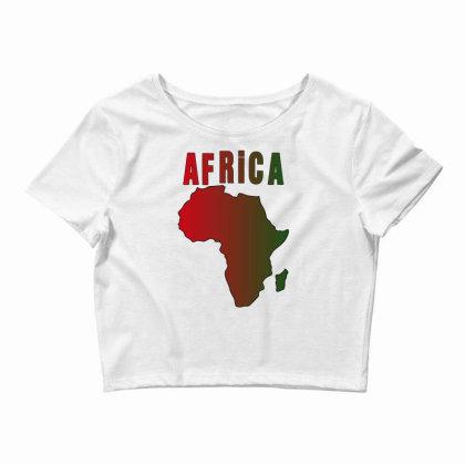 Africa Crop Top Designed By Bettercallsaul