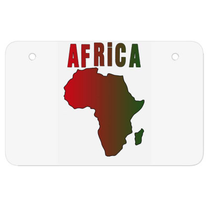 Africa Atv License Plate Designed By Bettercallsaul