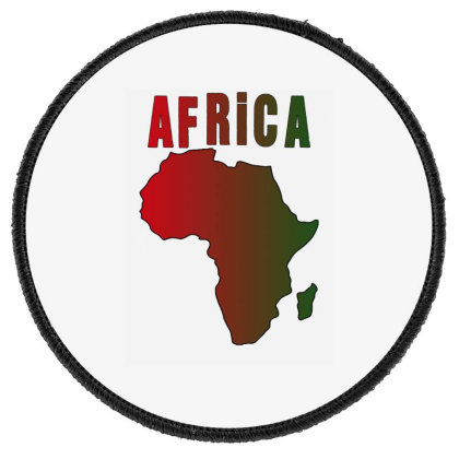 Africa Round Patch Designed By Bettercallsaul
