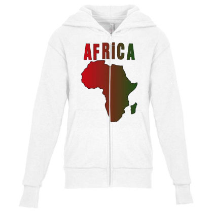 Africa Youth Zipper Hoodie Designed By Bettercallsaul