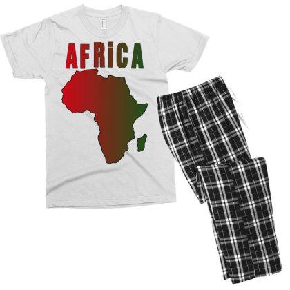 Africa Men's T-shirt Pajama Set Designed By Bettercallsaul