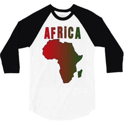 Africa 3/4 Sleeve Shirt Designed By Bettercallsaul