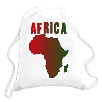 Africa Drawstring Bags Designed By Bettercallsaul