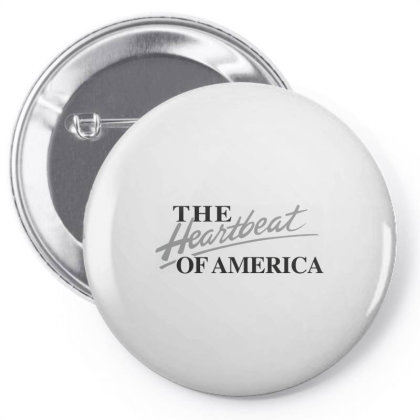 The Heartbeat Of America Pin-back Button Designed By Estore
