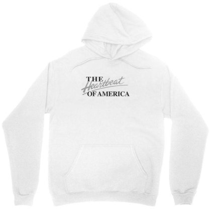 The Heartbeat Of America Unisex Hoodie Designed By Estore