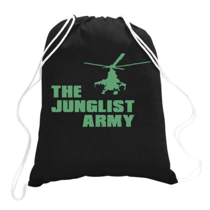 The Junglist Army Drawstring Bags Designed By Estore
