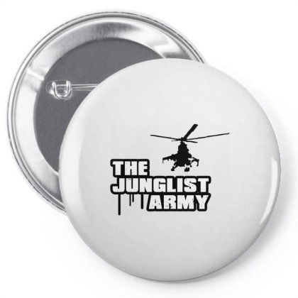 The Junglist Army Pin-back Button Designed By Estore