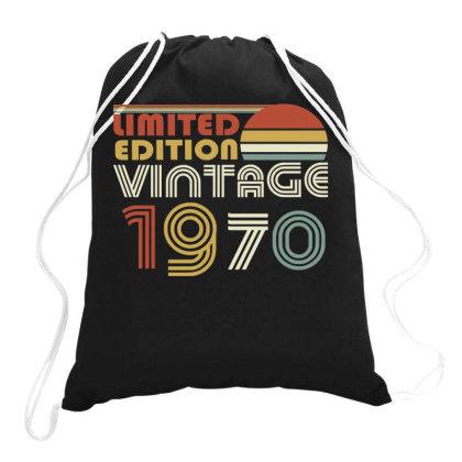 Limited Edition Vintage 1970 Drawstring Bags Designed By Ashlıcar