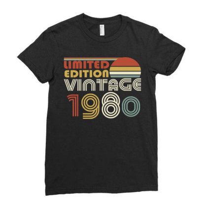 Limited Edition Vintage 1980 Ladies Fitted T-shirt Designed By Ashlıcar