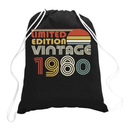 Limited Edition Vintage 1980 Drawstring Bags Designed By Ashlıcar